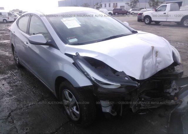 Inventory #758065333 2014 Hyundai ELANTRA