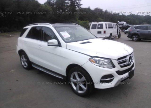 Inventory #893149627 2017 Mercedes-Benz GLE