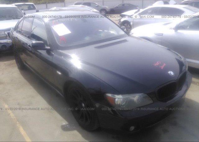 Inventory #264538886 2006 BMW 750