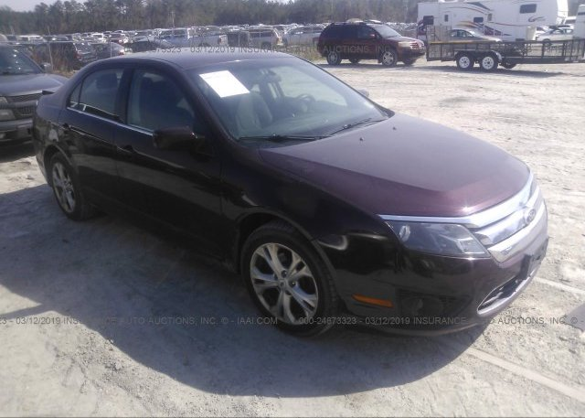 Inventory #821898572 2012 FORD FUSION