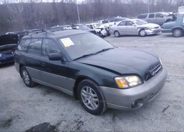 Inventory #933706955 2002 Subaru LEGACY