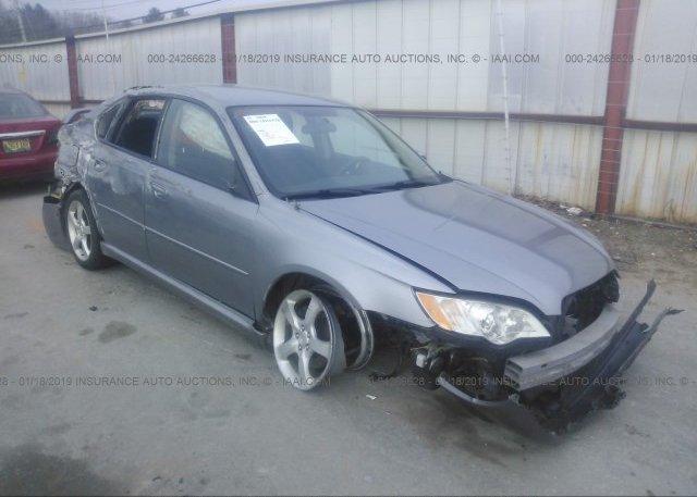 Inventory #108385043 2008 Subaru LEGACY