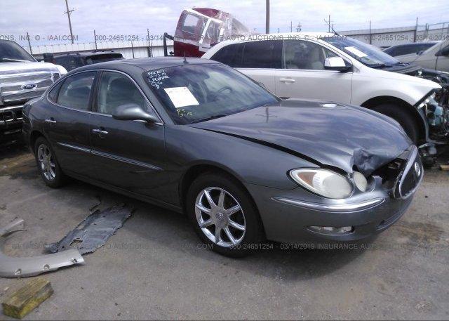 Inventory #357637421 2005 Buick LACROSSE