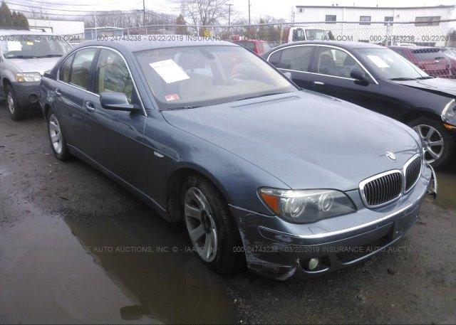 Inventory #660204138 2006 BMW 750