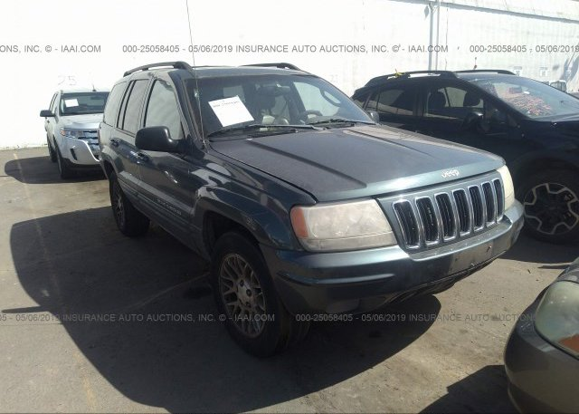 Inventory #802192079 2002 JEEP GRAND CHEROKEE