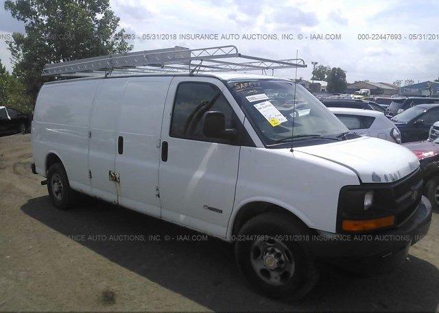 Inventory #345507643 2005 Chevrolet EXPRESS G2500