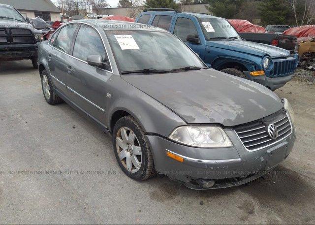 Inventory #485701577 2002 Volkswagen PASSAT