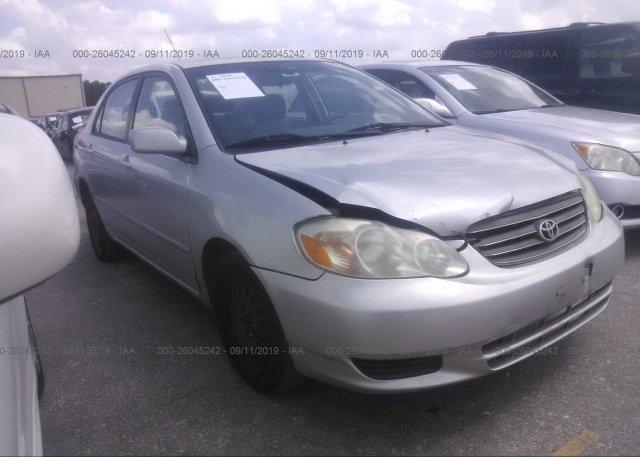 Inventory #916698216 2004 Toyota COROLLA