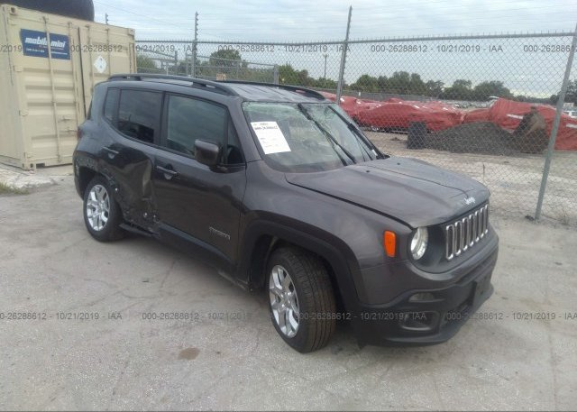Inventory #377650052 2018 JEEP RENEGADE