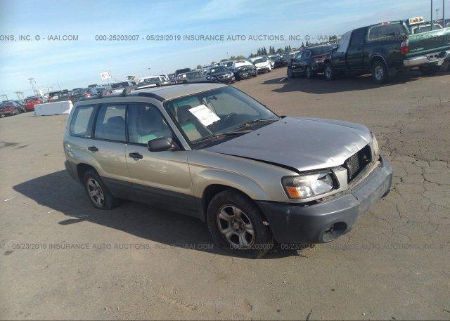Inventory #526266821 2004 Subaru FORESTER