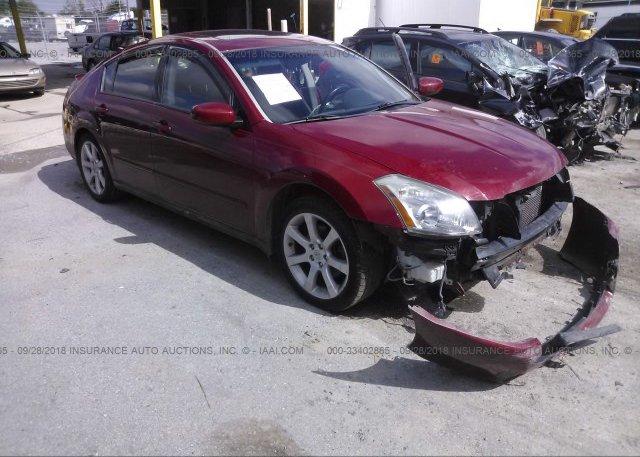 Inventory #164942298 2007 Nissan MAXIMA