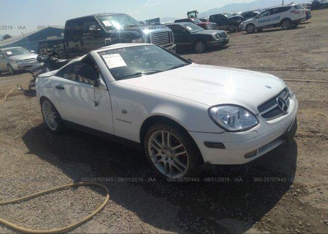 Inventory #424922784 1999 Mercedes-benz SLK