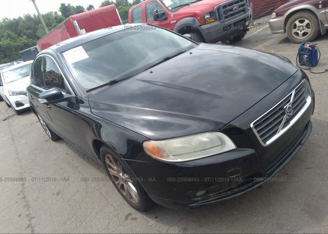 Yv1as982691102008 Clear Black Volvo S80 At East Windsor Ct On