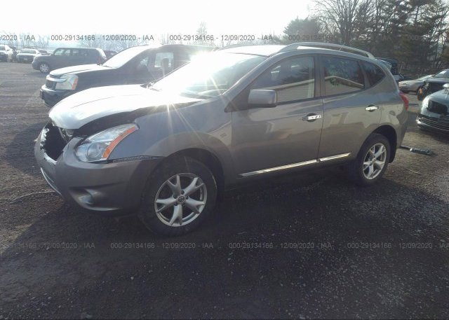 из сша 2011 NISSAN ROGUE JN8AS5MT8BW577430