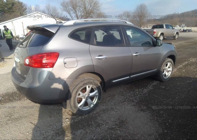 цена в сша 2011 NISSAN ROGUE JN8AS5MT8BW577430