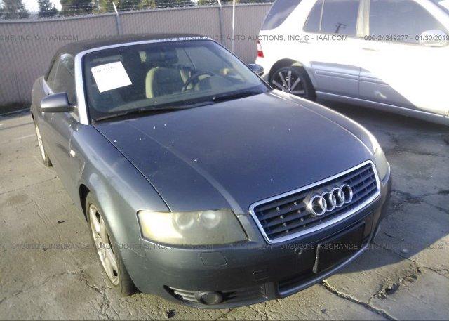 Inventory #848709658 2005 AUDI A4