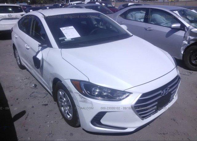 Inventory #998411855 2018 Hyundai ELANTRA