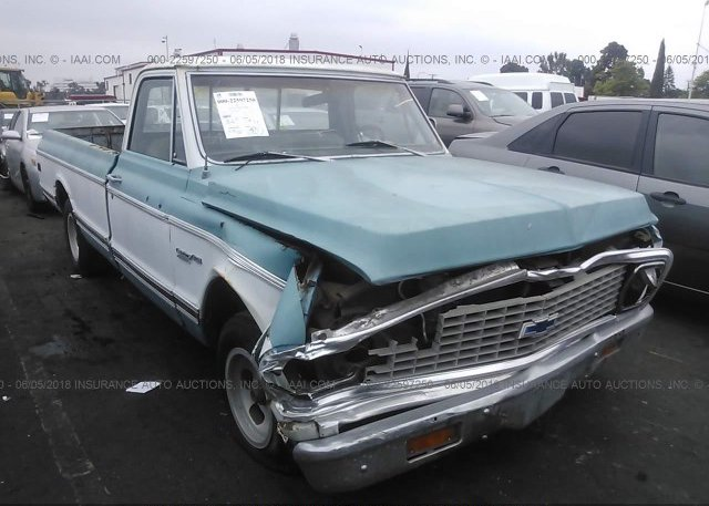 Inventory #514203288 1972 CHEVROLET 'S'TRUCK