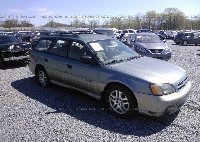 Inventory #222165344 2001 Subaru LEGACY