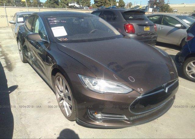 Inventory #298860097 2014 Tesla MODEL S