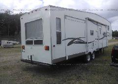 2005 FORESTRIVE WILDWOOD - 4X4FWDH225J044311 rear view