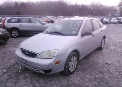 2006 FORD FOCUS - 1FAHP34N86W243198 Right View