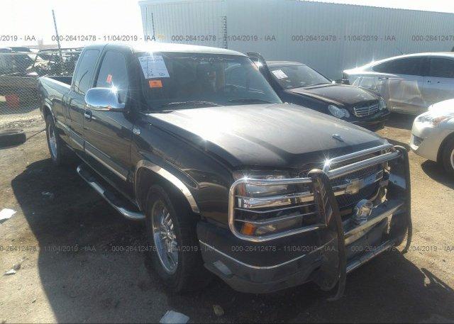 Inventory #724528565 2005 Chevrolet SILVERADO