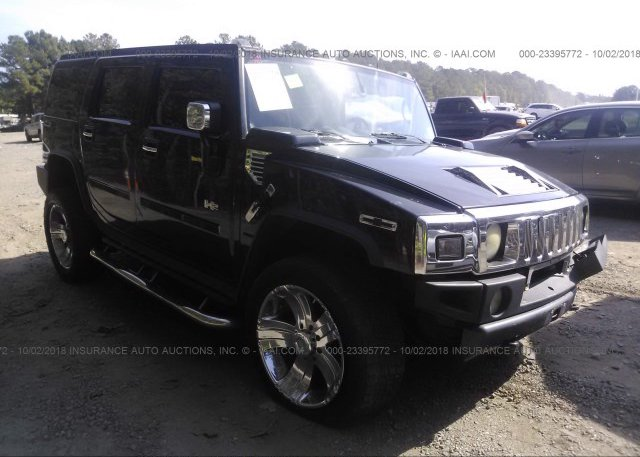 5grgn23ux4h109033 Parts Only White Hummer H2 At Lincoln Ar On