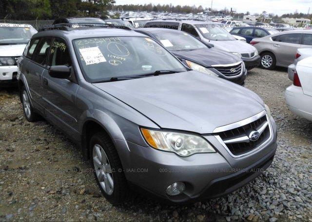 Inventory #138942095 2008 Subaru OUTBACK