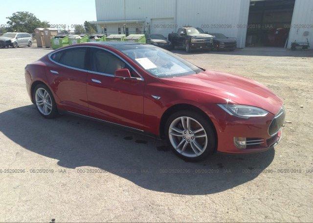 Inventory #778583107 2014 Tesla MODEL S