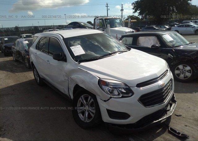 Inventory #802662948 2016 Chevrolet EQUINOX
