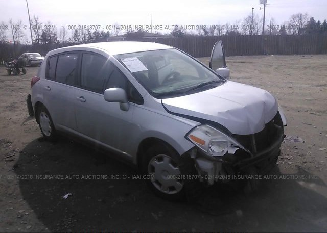3n1bc11e87l397859 Clear White Nissan Versa At Clearwater Fl On