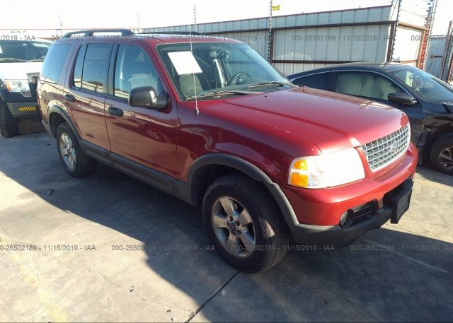 Inventory #212550234 2003 FORD EXPLORER