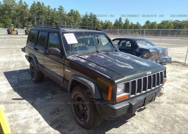 Inventory #481204354 1997 JEEP CHEROKEE