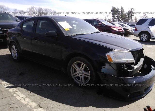 Inventory #899031801 2013 Dodge AVENGER