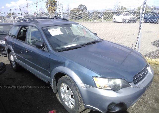 Inventory #956468831 2005 Subaru LEGACY
