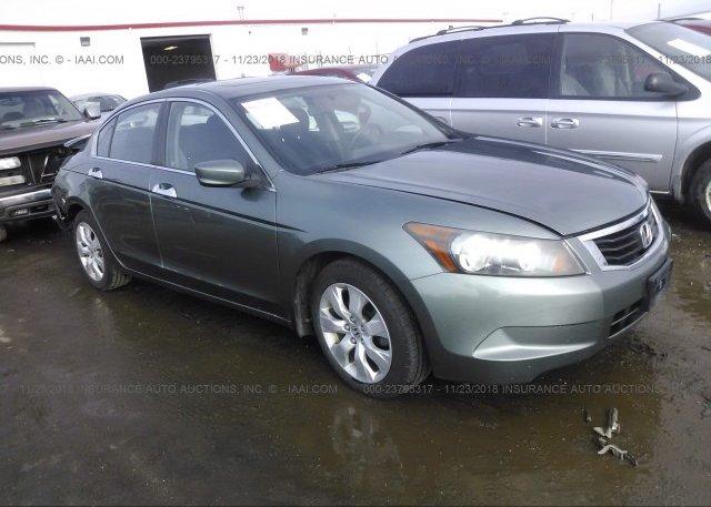 Inventory #816337107 2008 Honda ACCORD