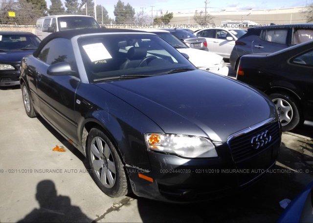 Inventory #771178562 2007 AUDI A4