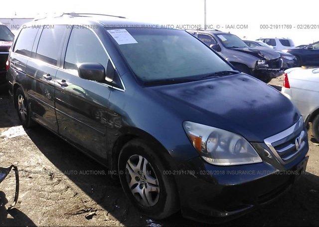 Inventory #616600041 2005 Honda ODYSSEY