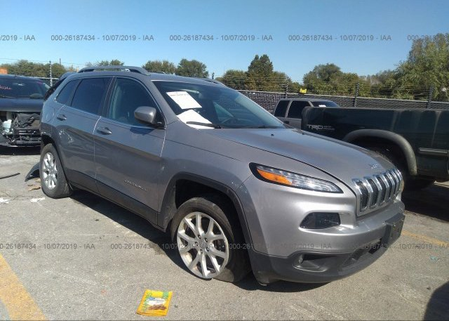 Inventory #157608298 2018 JEEP CHEROKEE