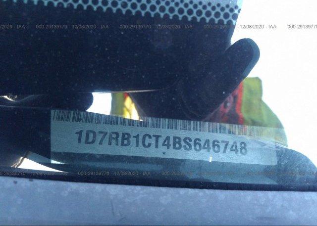 1D7RB1CT4BS646748 2011 RAM 1500
