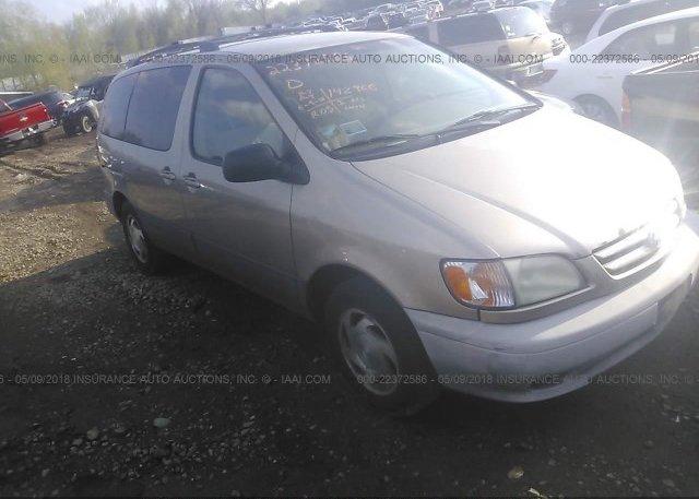 Inventory #374538862 2001 Toyota SIENNA