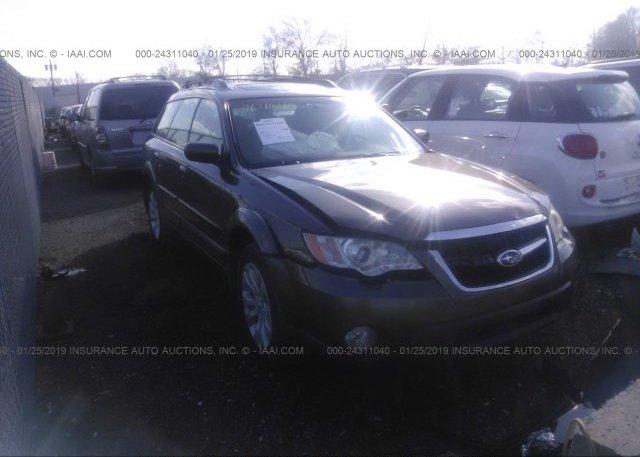 Inventory #850227307 2008 Subaru OUTBACK