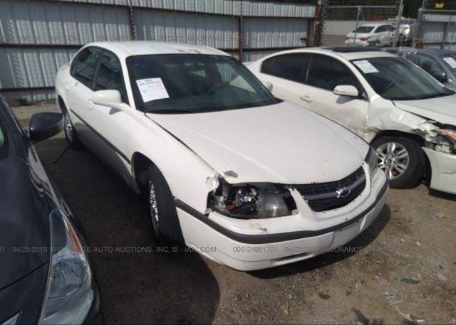 Inventory #247037825 2002 Chevrolet IMPALA