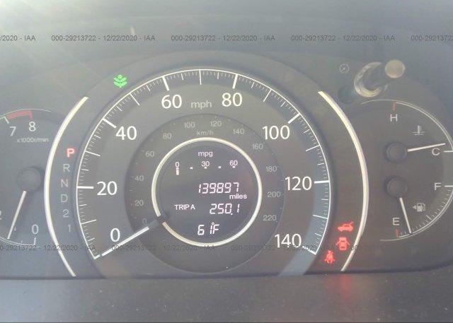 5J6RM3H76CL001360 2012 HONDA CR-V