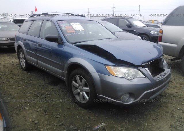 Inventory #185516545 2009 Subaru OUTBACK