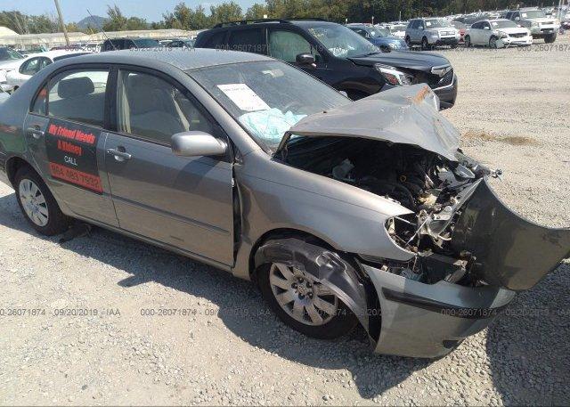 Inventory #816226072 2003 Toyota COROLLA
