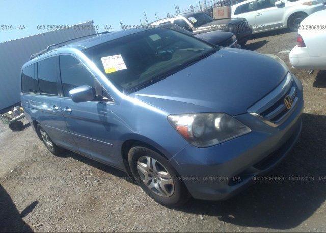 2005 Honda Odyssey For Sale >> 5fnrl38725b123504 Clear Blue Honda Odyssey At Tucson Az On