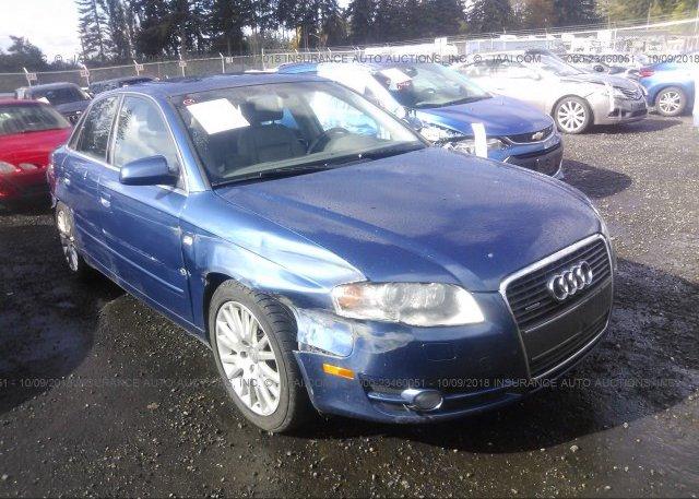 WAUDFEA Bill Of Sale Blue Audi A At PUYALLUP WA On - 2006 audi a4