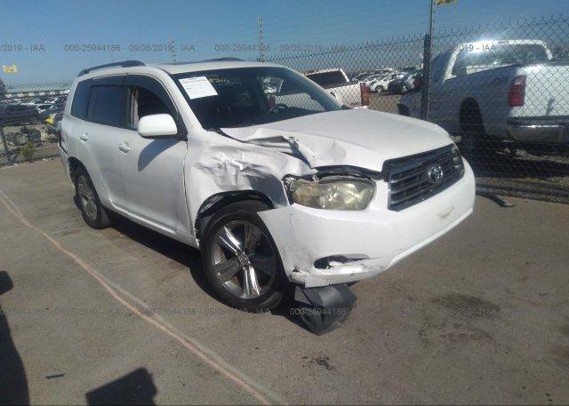 Inventory #293494404 2009 Toyota HIGHLANDER